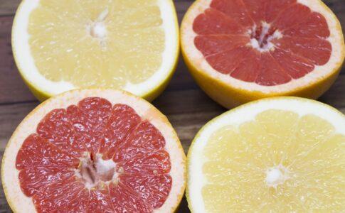 グレープフルーツのルビーとホワイトの栄養