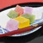 琥珀糖とぶどう氷・寒氷・薄氷・味甚羹の違いは?